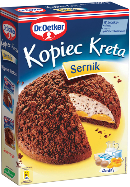 Dr Oetker Kopiec Kreta Sernik Ciasta Ciastka Torty Opinie E