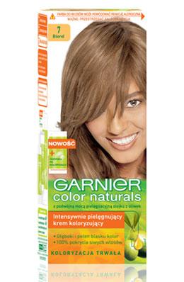 11 >> Garnier Color Naturals 7 - Blond - Koloryzacja włosów - Opinie.e-commerce.pl - Garnier Color ...