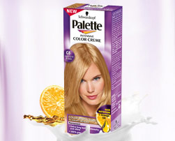 Palette Intensive Color Creme G8 – Jasny złoty blond