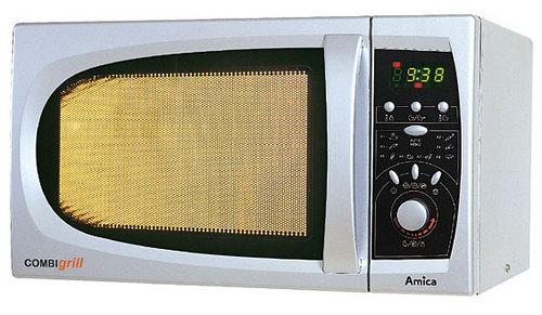 Amica Amm21e80gs Kuchenka Mikrofalowa Wolnostojąca