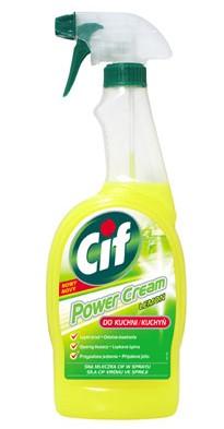 Cif Power Cream Spray Do Kuchni Pozostałe Preparaty